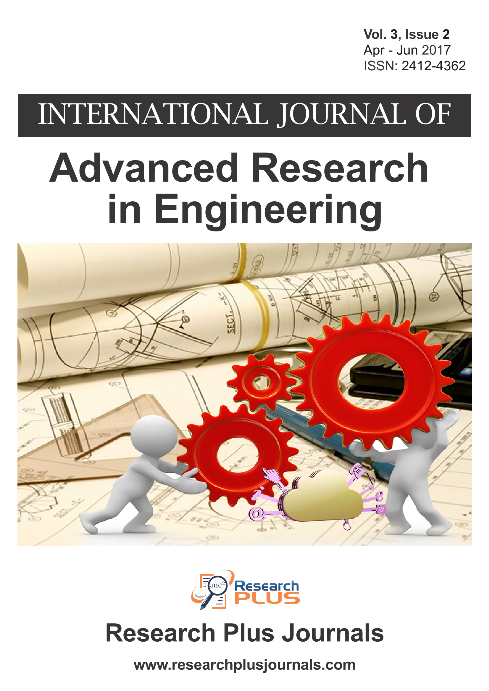 Volume 3, Issue 2, International Journal of Advanced Research in Engineering (IJARE)  (Online ISSN 2412-4362)