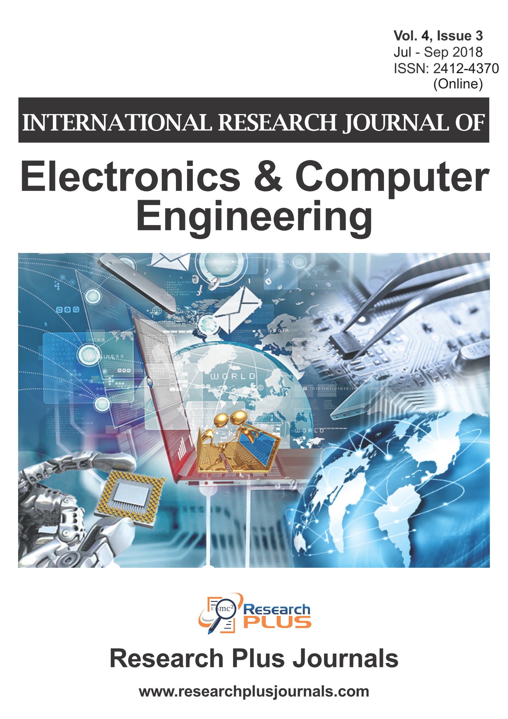 Volume 4, Issue 3, International Research Journal of Electronics & Computer Engineering (IRJECE) (Online ISSN : 2412-4370)
